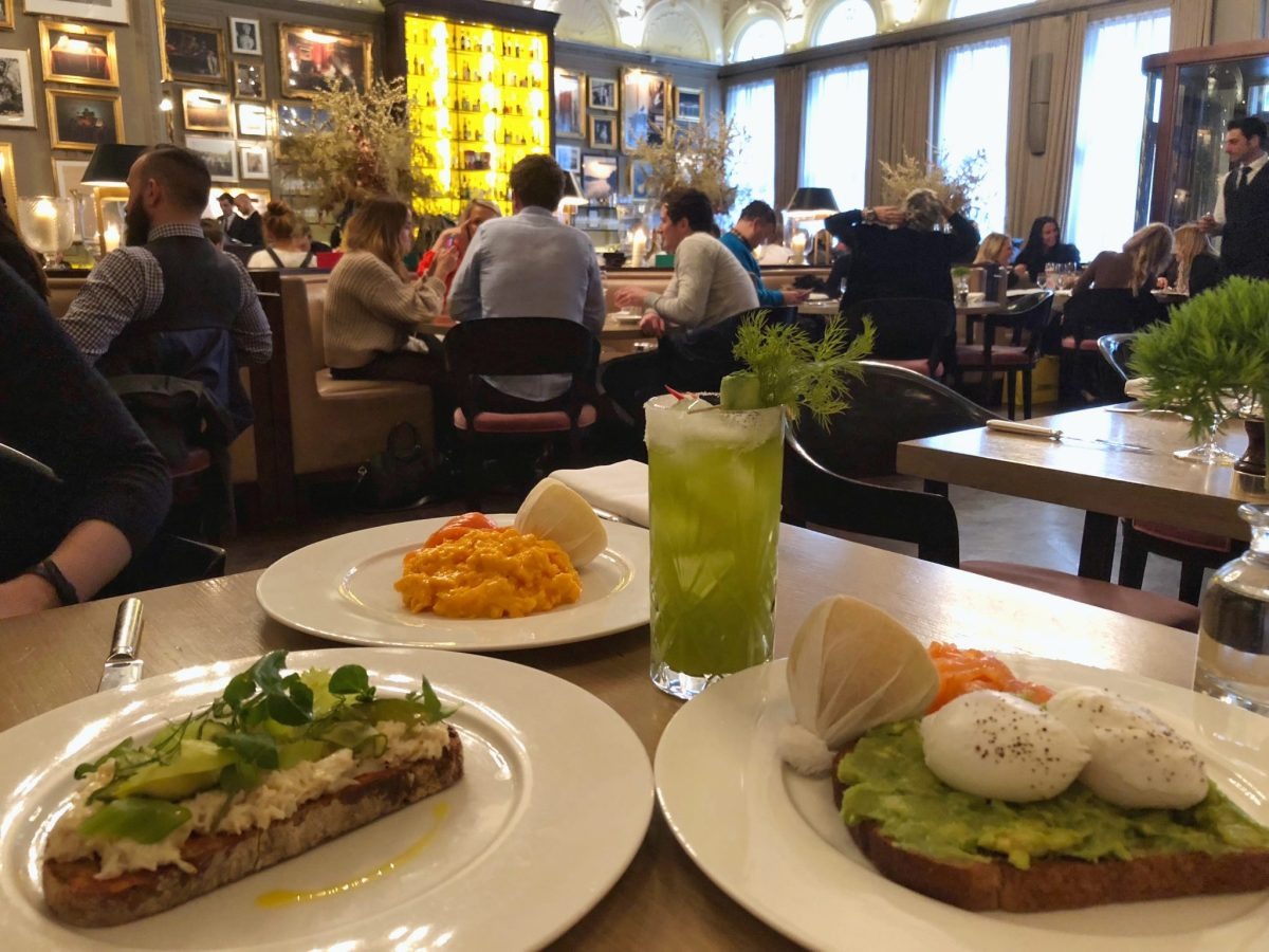 Berners Tavern for Brunch, our Review